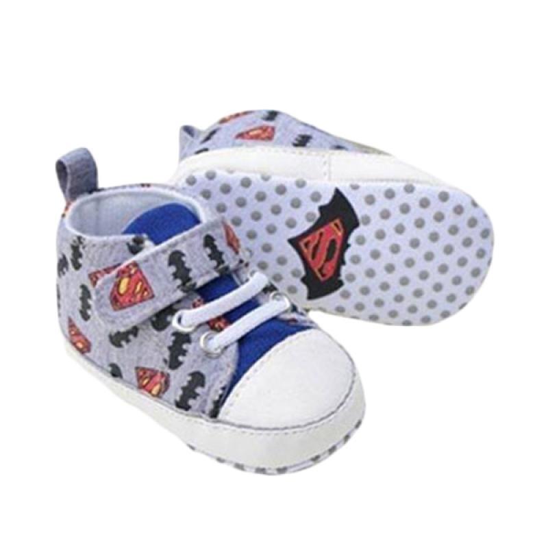 harga Prewalker Superman Sepatu Bayi - Abu-abu Blibli.com
