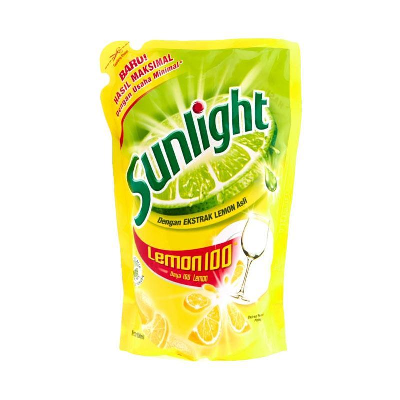 harga Sunlight Lemon Reffil Sabun Cuci Cair [400 mL] Blibli.com