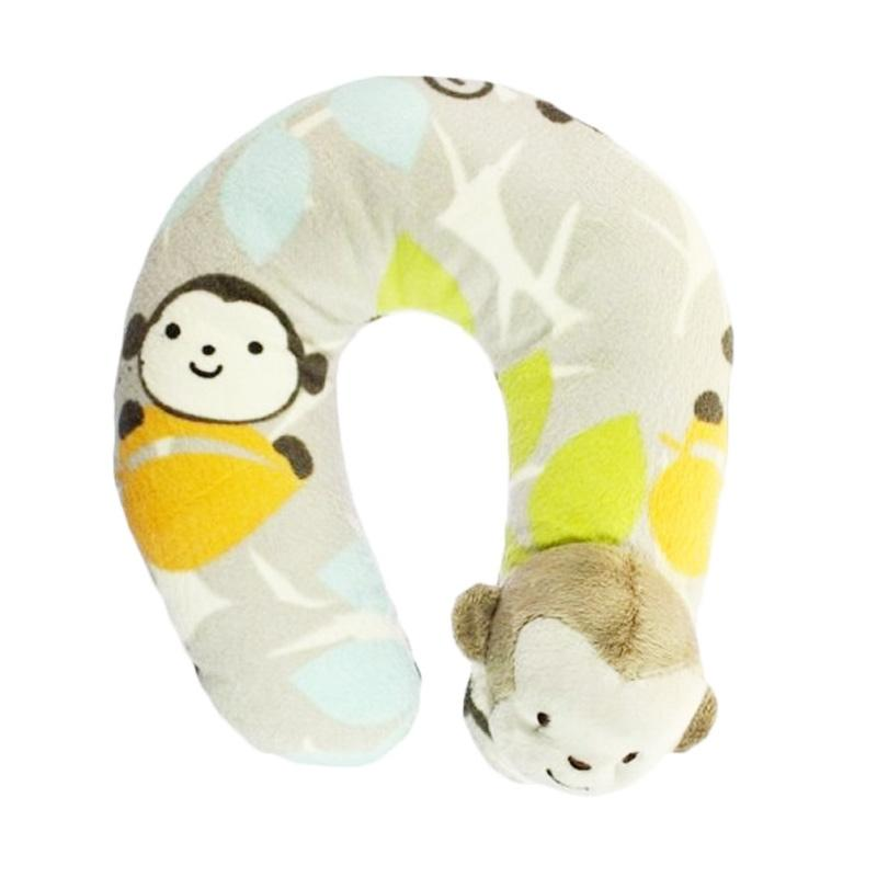 Adora Baby Kolaco Baby Neck Pillow Monkey Bantal Leher