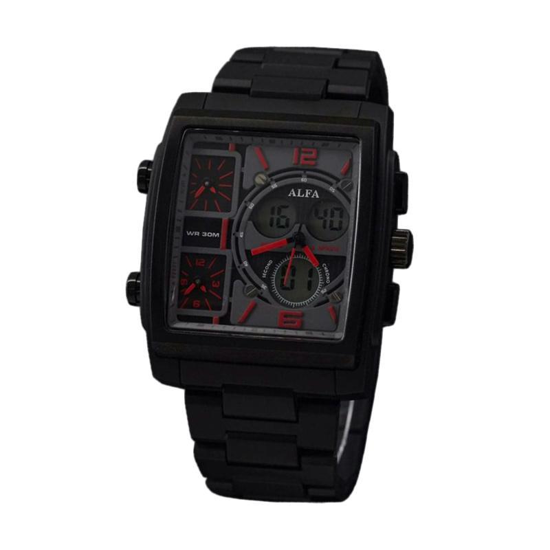 Alfa Fourtime D46H178AL04WKTHTMM Jam Tangan Pria - Black