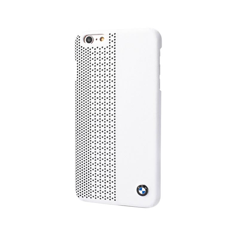 BMW Perforated Hardcase Casing for iPhone 6 - White