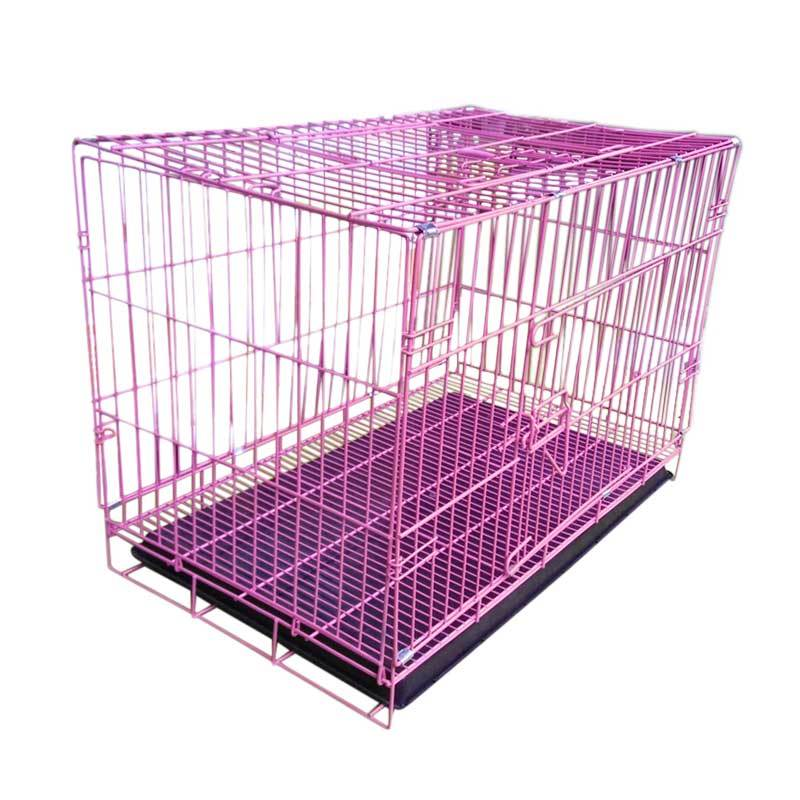 harga Jawara K18 Besi Lipat Besar 77p Kandang Kucing - Pink Blibli.com