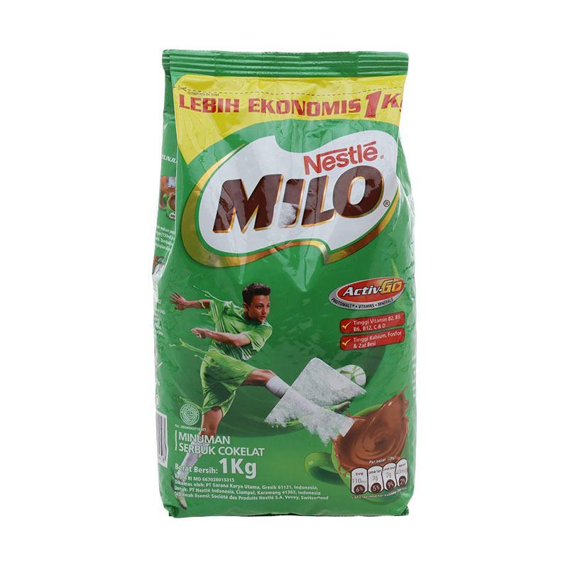 Nestle Milo Activ Go Cokelat Susu Bubuk [1 kg] exp mei 2022