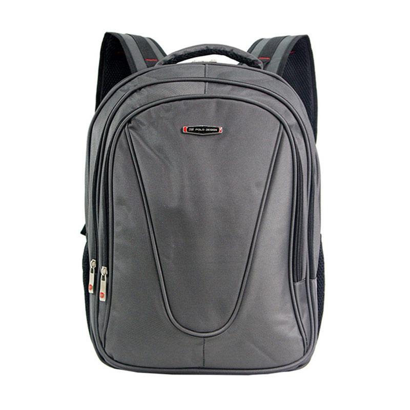 Polo Design Backpack + Rain Cover JC 205-09 - Grey