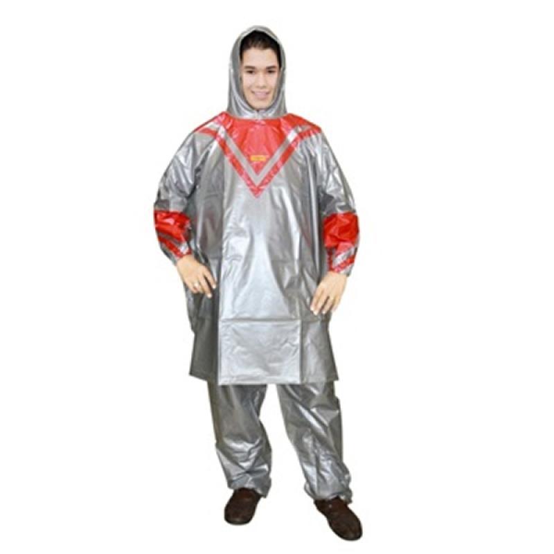 Rainwear Poncho Platinum Jas Hujan - Merah