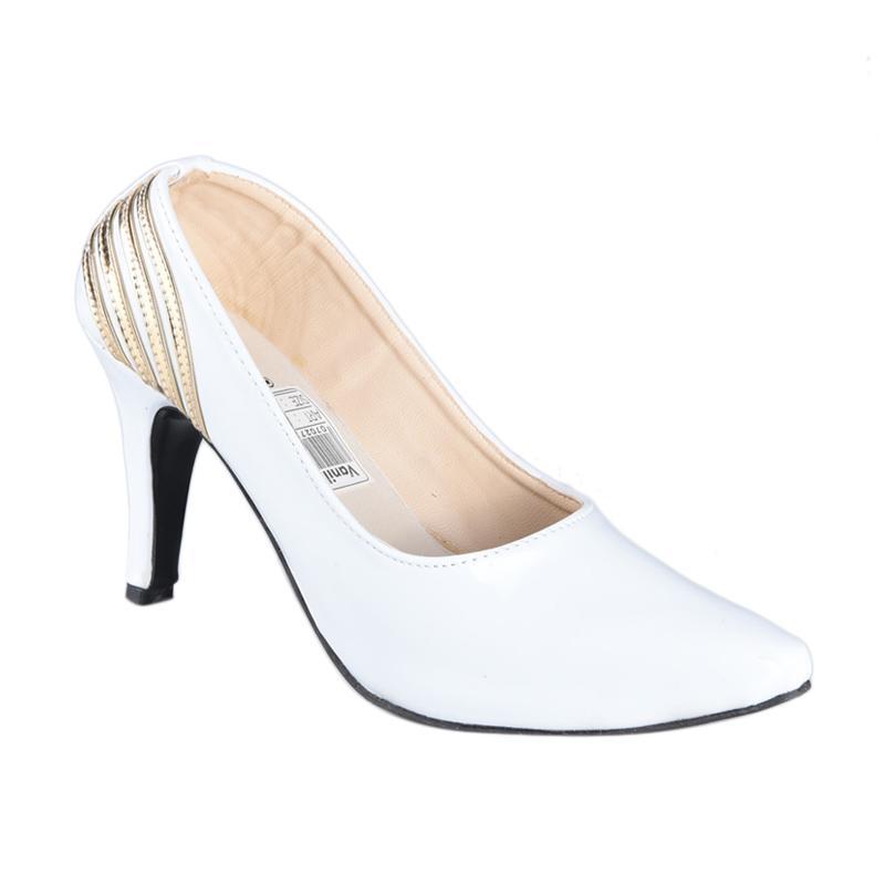 Vanilla SN-214 Sepatu High Heels Wanita - Putih