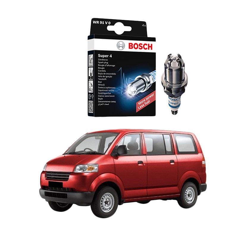 Bosch Super 4 FR78 Busi Mobil for Suzuki APV 1.5i