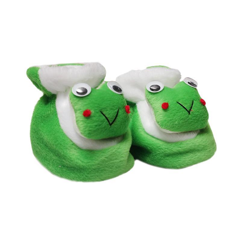 harga Happy Baby Shoes Berbulu Keroppi Sepatu Bayi - Green Blibli.com