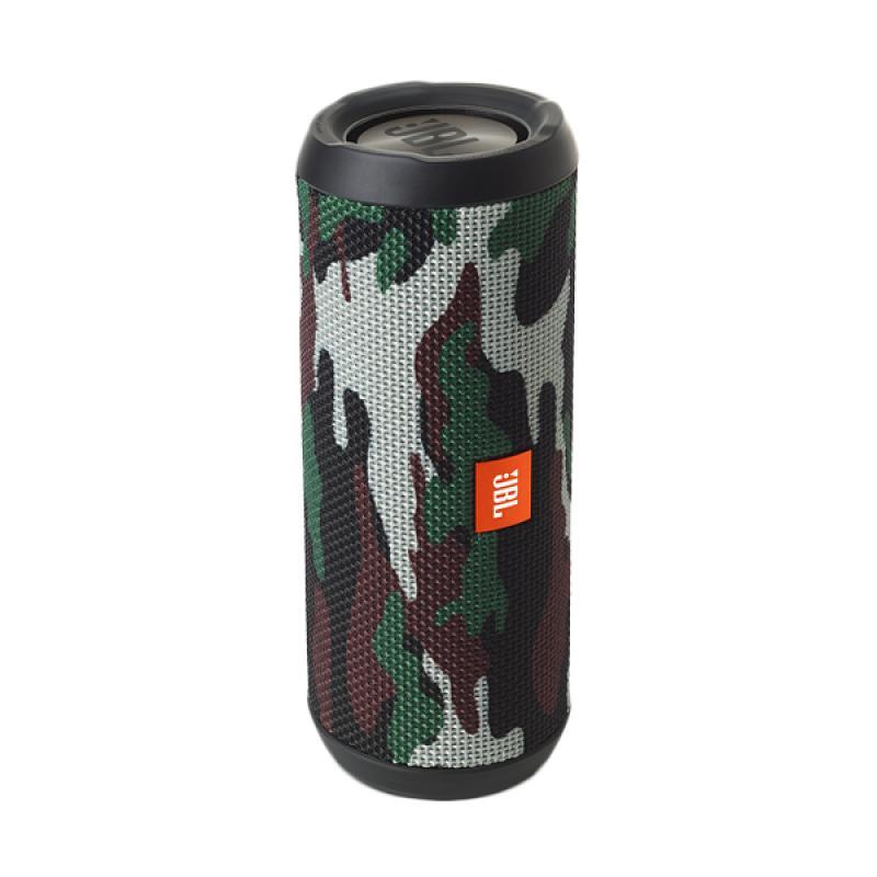 JBL Flip 3 Splashproof Squad Bluetooth Speaker - Army Green