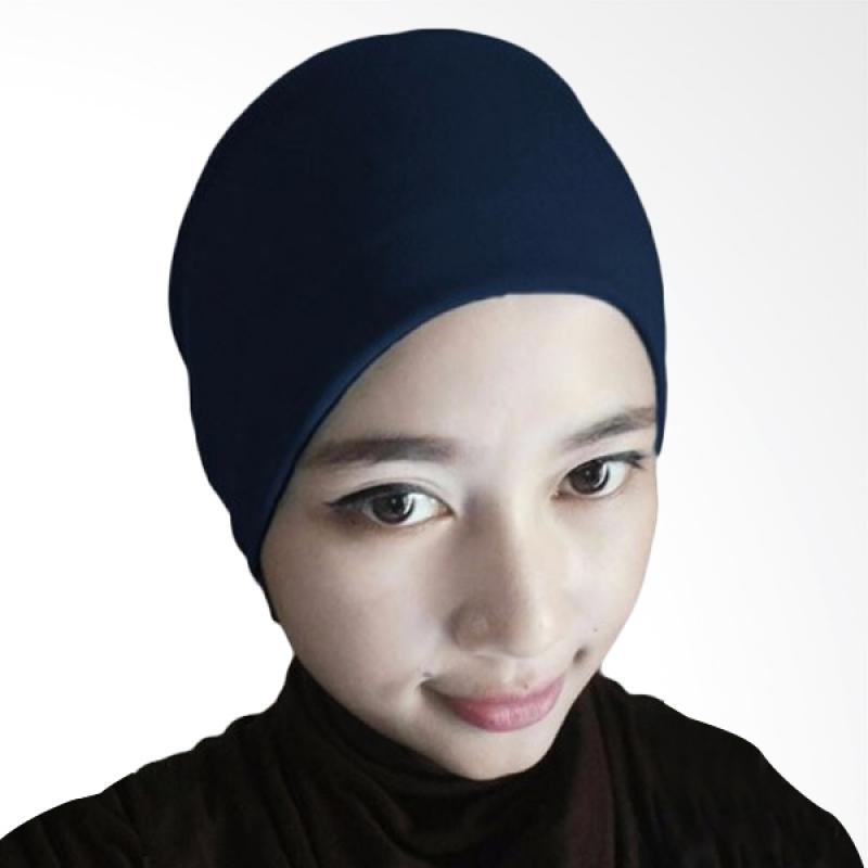 Kus_group Hijab Arab Ciput - Biru dongker