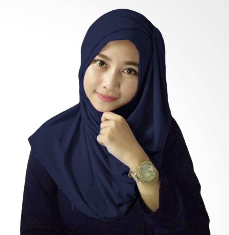Milyarda Hijab Hana Ceruti - Biru Dongker