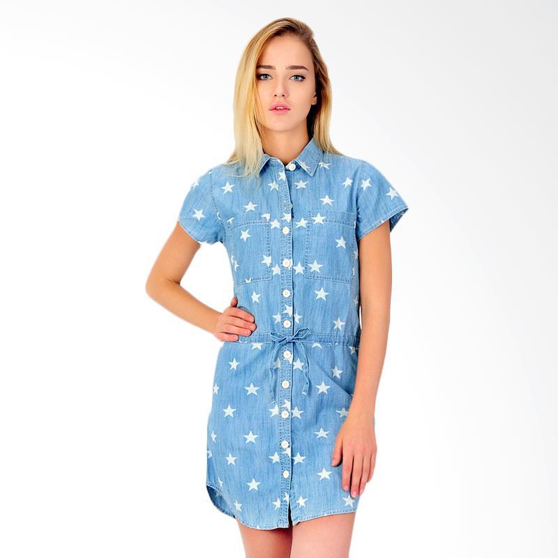 Sjo & Simpaply Dresstall Star Women's Dress - Blue