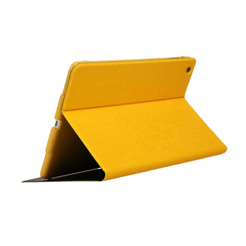 Totu 360 Leathercase Casing for iPad Air - Yellow