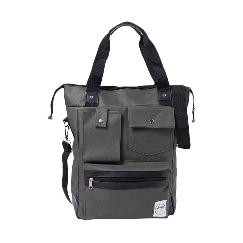 Hanan Project Doza Tote Bag - Green Army