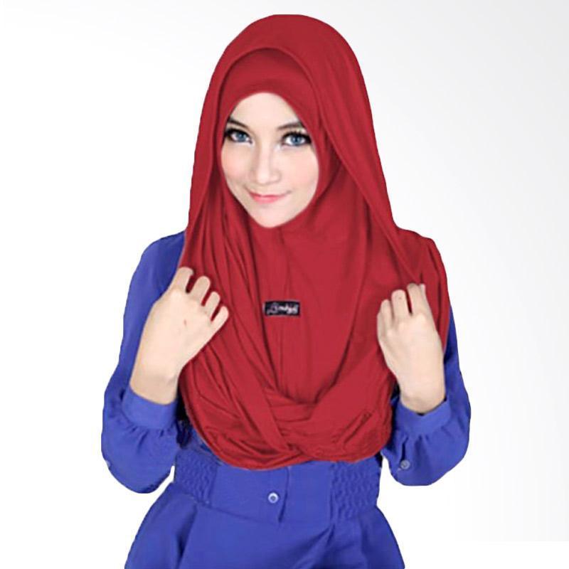 Kus Group Sosor Twist Hijab - Maroon