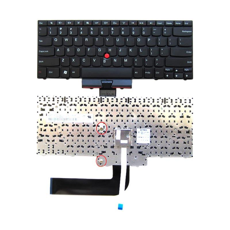 harga Lenovo Keyboard For Lenovo E40/ E50/ EDGE 14/ EDGE 15 - Black Blibli.com