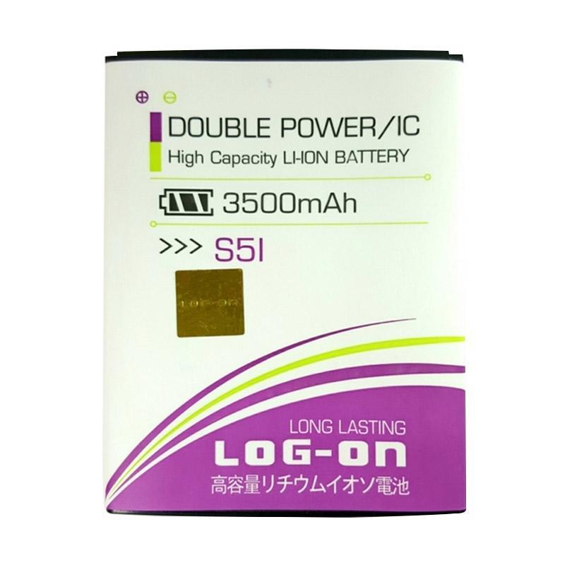 Log On Double Power Battery for Advan S5I [3500 mAh]
