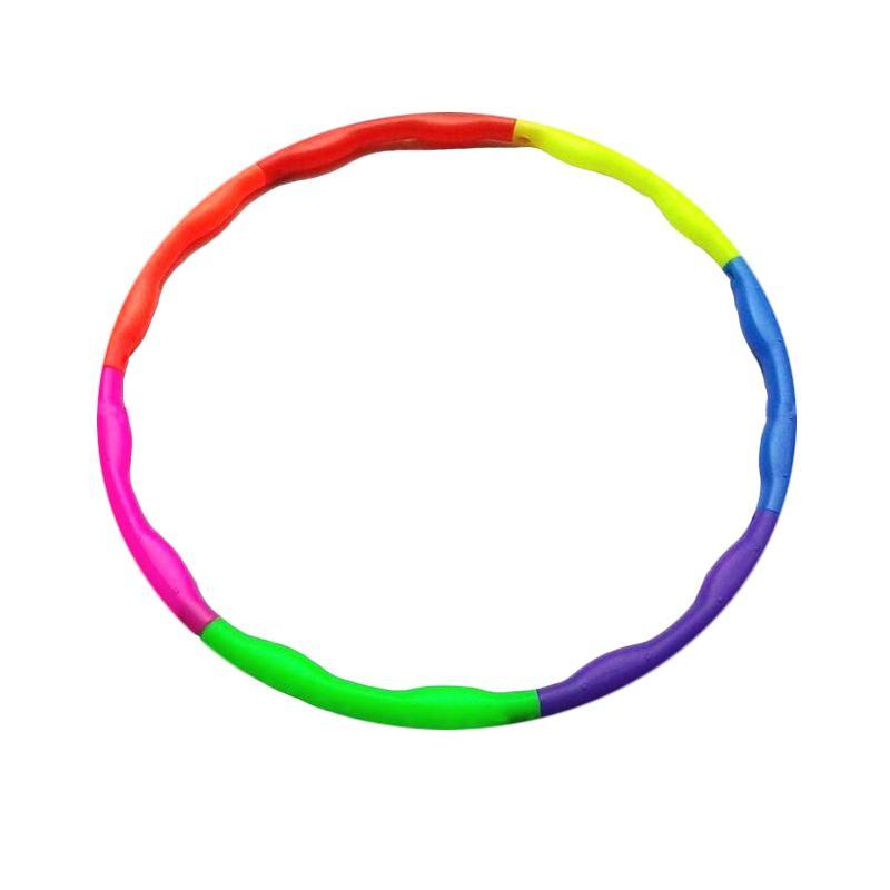 harga Toko Alat Fitnes Body Gym Hula Hoop - Multicolor [80 cm] Blibli.com