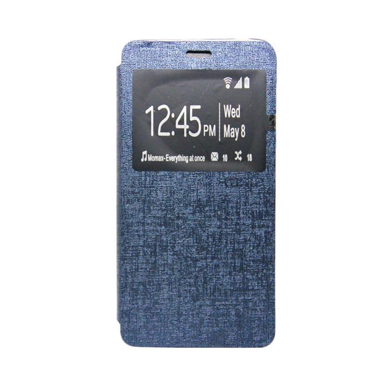 UME Flipcase Flip Cover Casing for Zenfone 3 Max ZC520TL - Biru