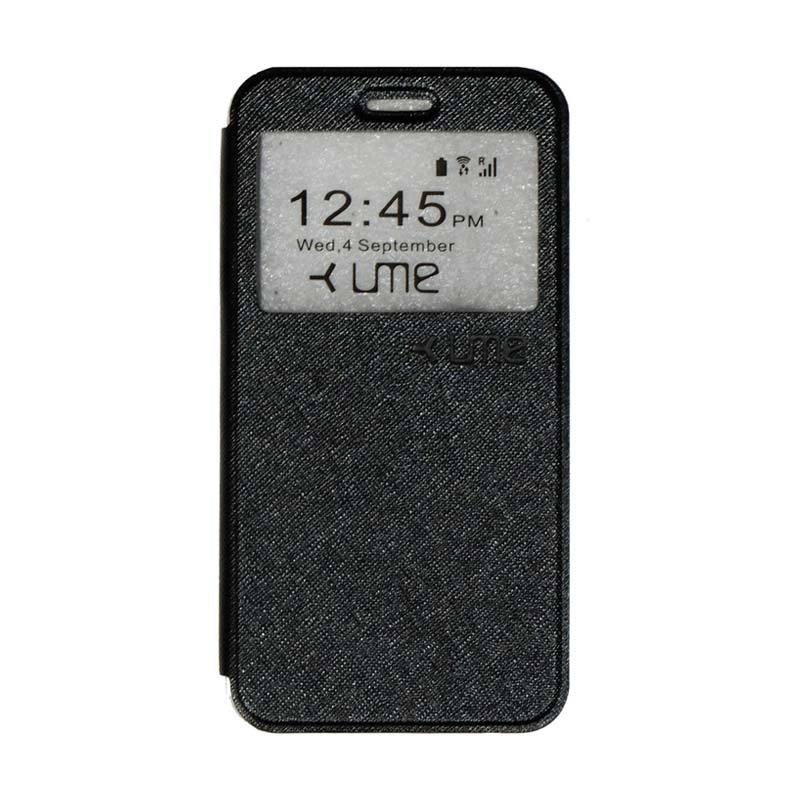 UME Flipshell Flip Cover Casing for Himax M1 - Black