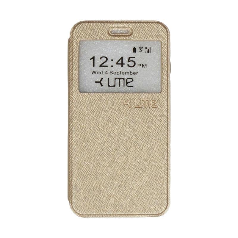 UME Flipshell Flip Cover Casing for Himax M1 - Gold