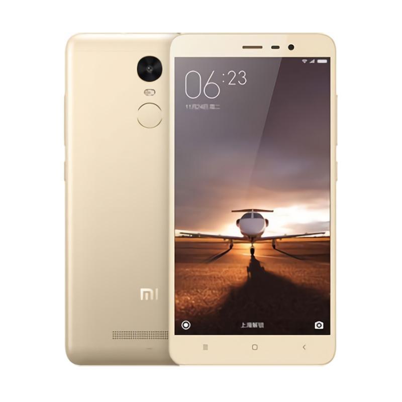 Xiaomi Redmi Note 3 Pro Smartphone - Gold [32GB/3GB]