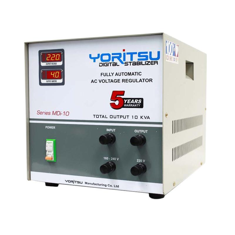 harga Yoritsu Voltage Stabilizer Digital 10 KVA 1Phase Blibli.com