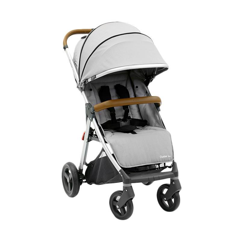 Babystyle Oyster Zero Kereta Dorong Bayi - Pure Silver