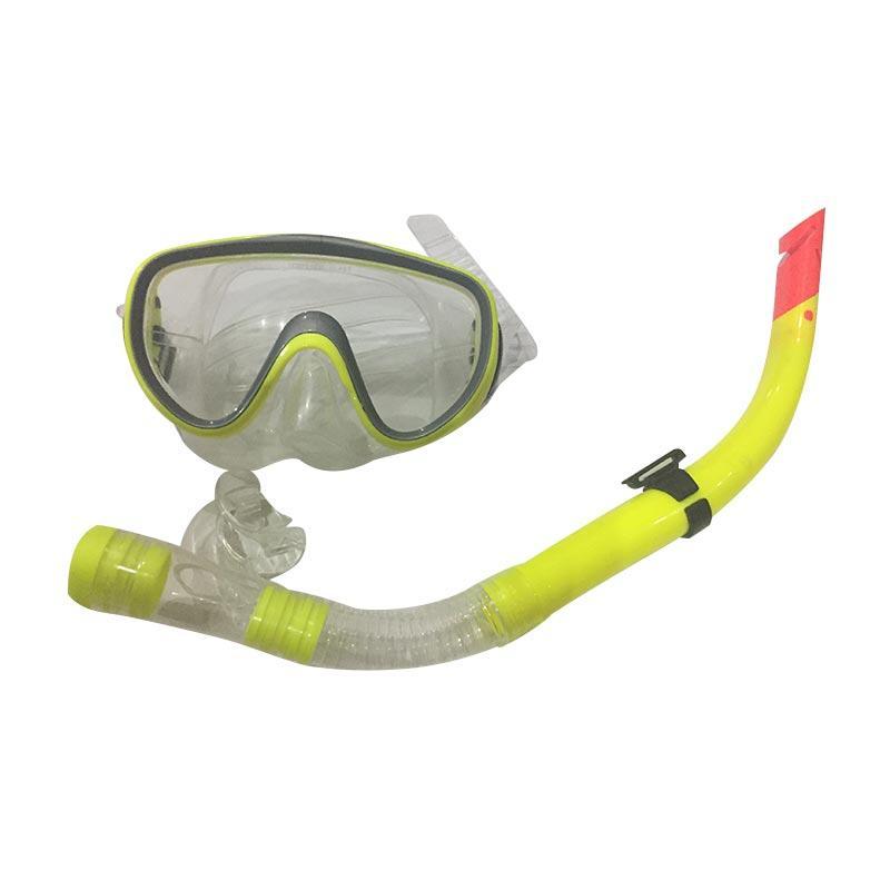 harga Griya's Mask & Snorkle Set Alat Selam - Kuning Blibli.com