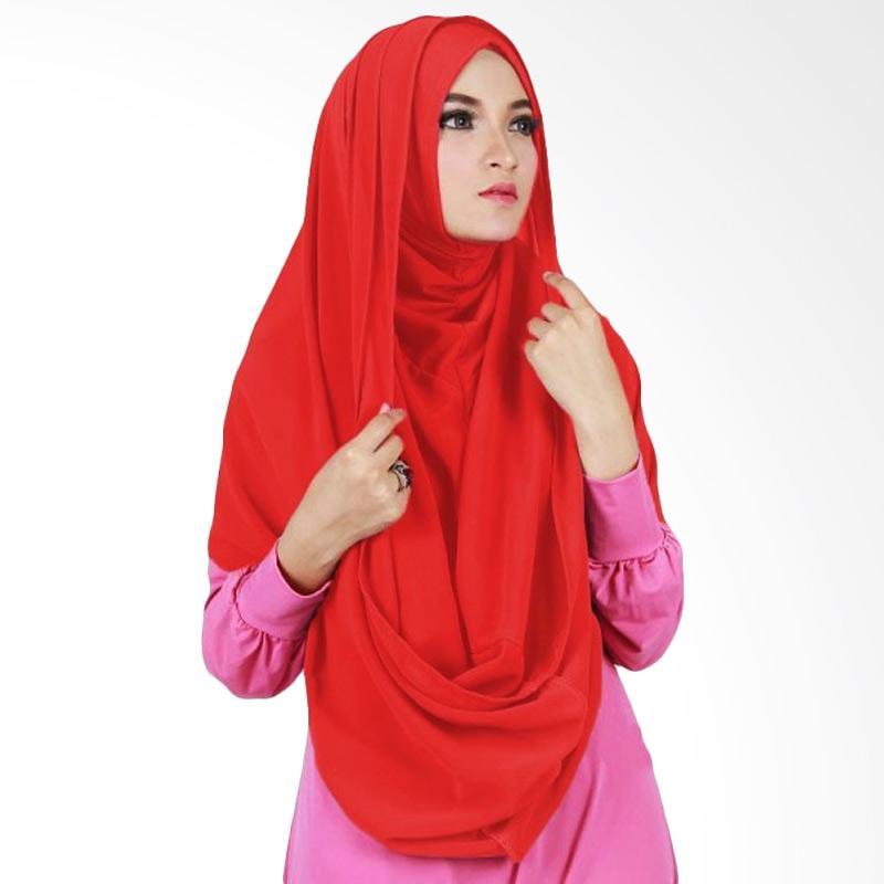 Milyarda Hijab Sirhood Kerudung - Merah