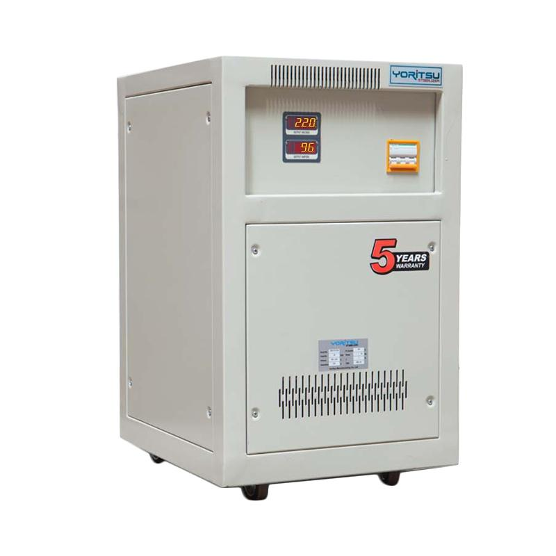 harga Yoritsu Voltage Stabilizer Digital 20 KVA 1Phase Blibli.com