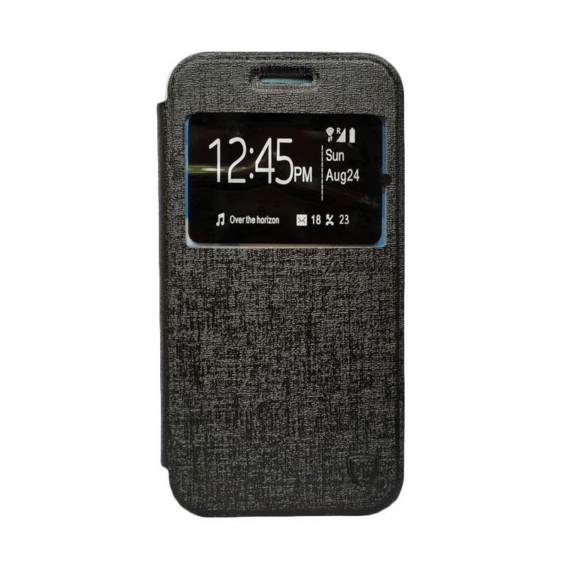 ZAGBOX Flip Cover Casing for Huawei 4X - Hitam