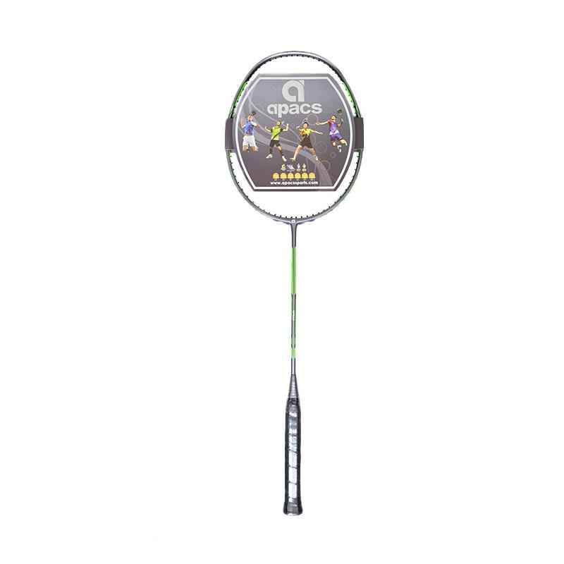 Apacs Dual Power and Speed Raket Badminton - Grey