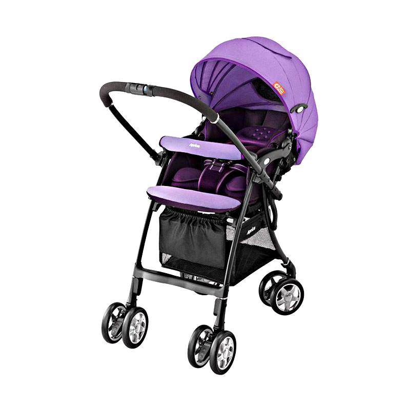 Aprica Luxuna CTS Kereta Dorong Bayi - Purple