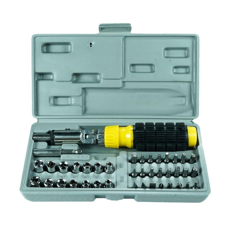 harga Klikmjm Aiwa Tool Kit Socket Set 41 in 1 Multifungsi Blibli.com