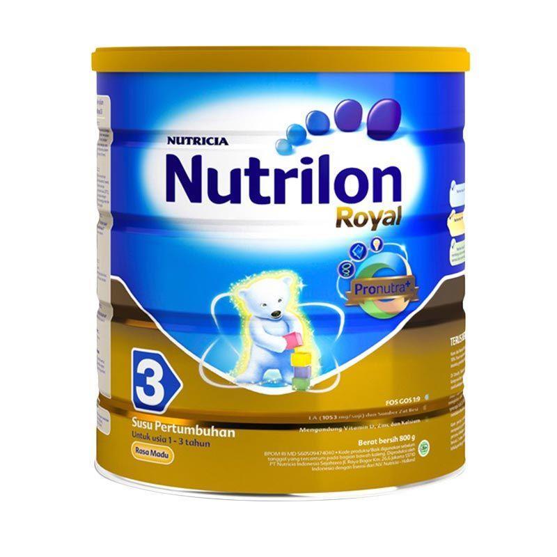 Nutricia Nutrilon Royal 3 Madu Susu Formula [800 gr]