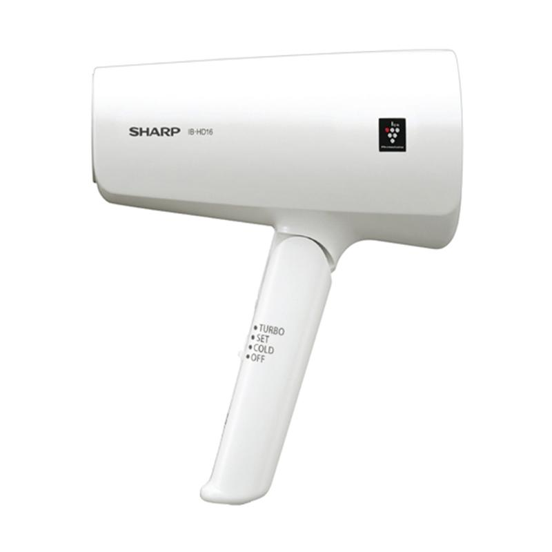 SHARP IB-HD16-W Hair Dryer with Plasmacluster hanya jadetabek