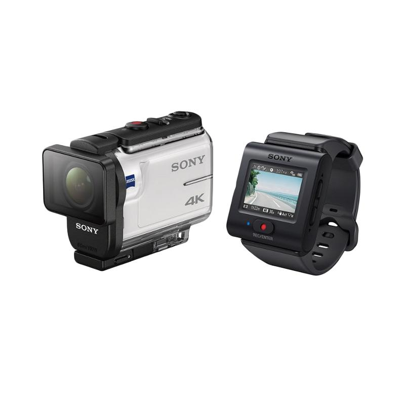 SONY FDR-X3000R Action Camera with WiFi and GPS [4K]