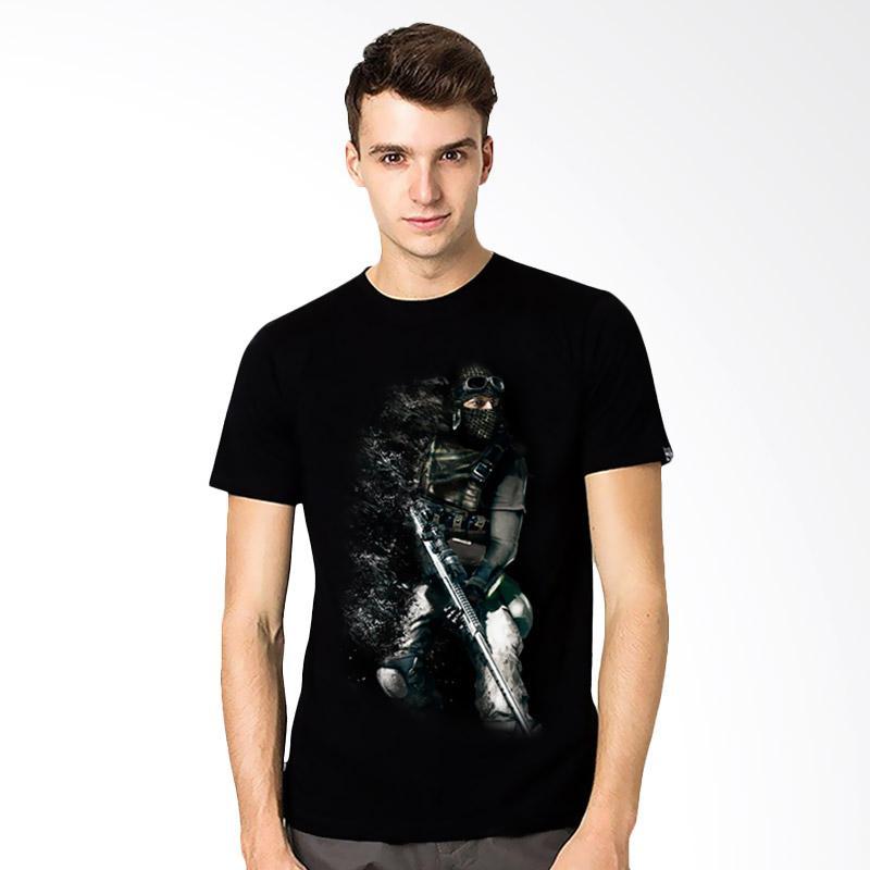 harga T-SHIRT GLORY 3D Dropdead Kaos Pria - Hitam Blibli.com