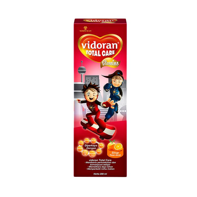 Vidoran Total Care Syrup Vitamin Anak [200 mL]