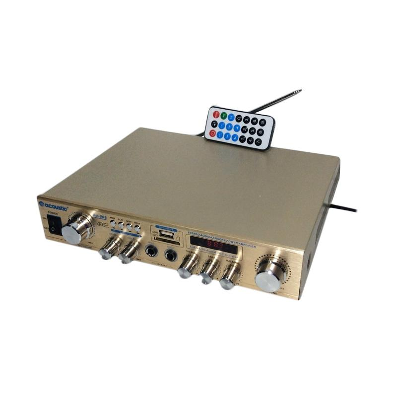 harga Acoustic AV980 Amplifier [Mp3/ Radio/ Karaoke/ AC/DC] Blibli.com