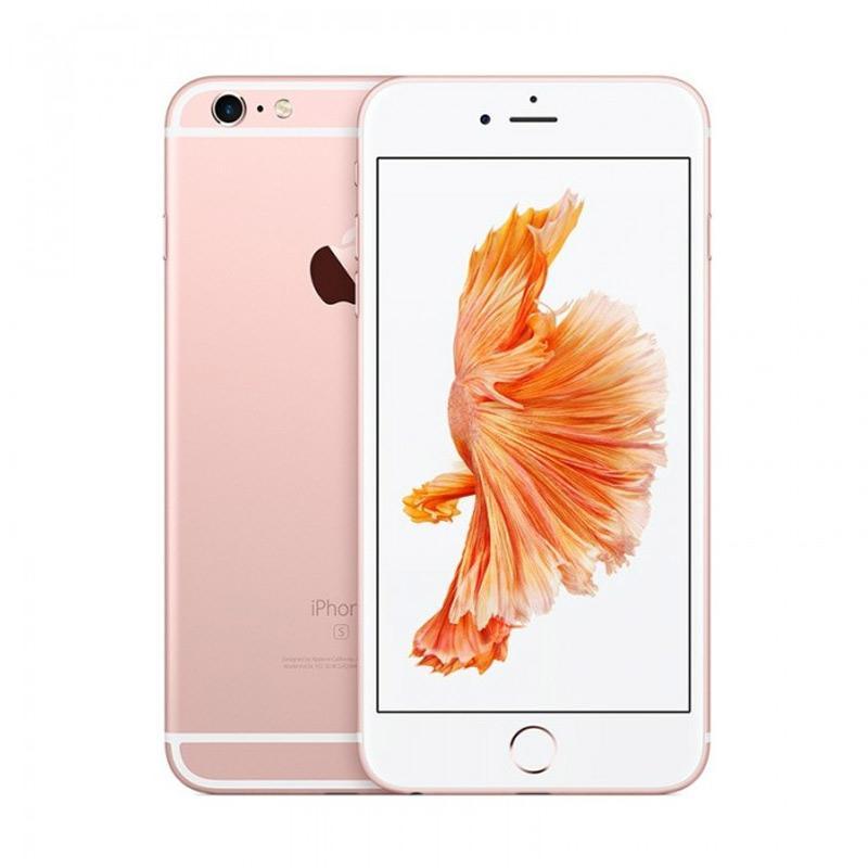 Apple iPhone 6S Plus 64 GB Smartphone - Rose Gold [ Internasional 1 Tahun] + Free Nokia 105