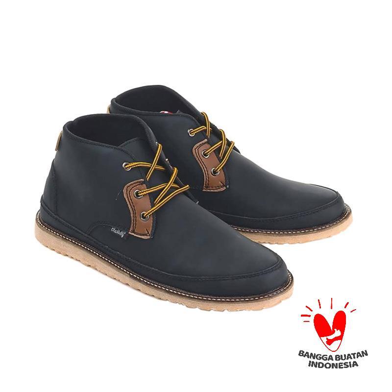 Blackkelly LAY 254 Sepatu Kasual Pria - Hitam