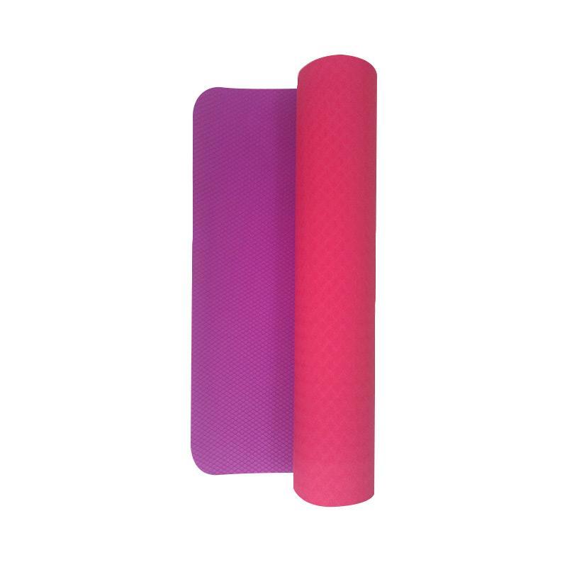 Kettler 0731-000 Profesional Grade Yoga Mat  - Pink Purple