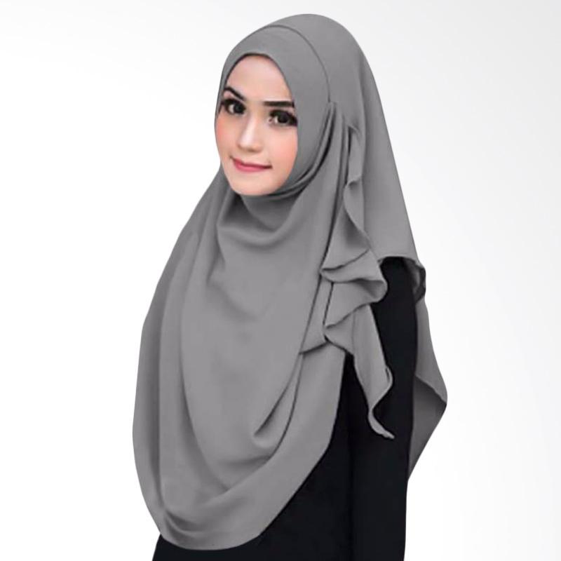 Kus Group Flowing Hijab Instant - Grey