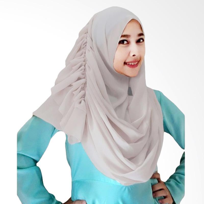 Kus Group Hijab Cassanova Kerudung - Abu