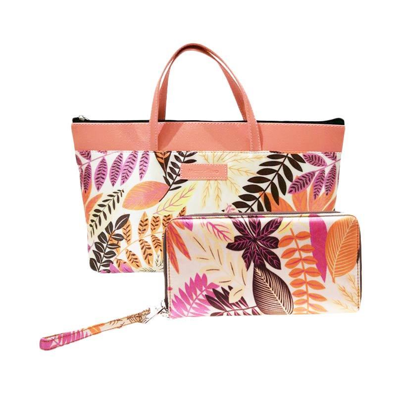 harga Marcellivo Minibag Batik Tas Wanita - Peach Blibli.com