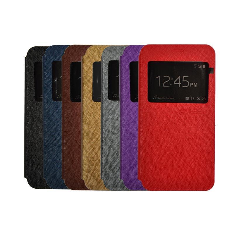 SMILE Flip Cover Casing for Asus Zenpad C 7 Inch ZE170CG - Hot Pink