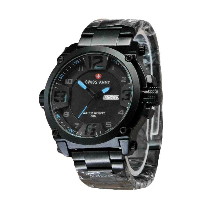 Swiss Army SA7169BW Jam Tangan Pria - Black