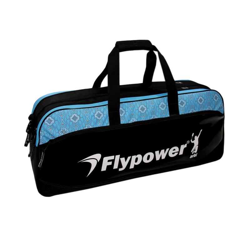 Flypower Safir 3 Tas Badminton - Black Blue